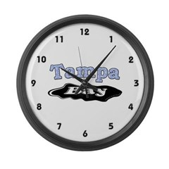 Tampa Bay Oil Spill Large Wall Clock