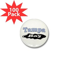 Tampa Bay Oil Spill Mini Button (100 pack)