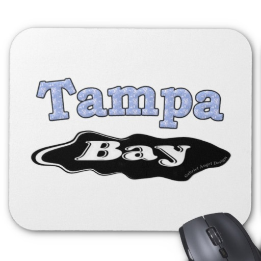 Tampa Bay Oil Spill Mousepad