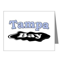 Tampa Bay Oil Spill Note Cards (Pk of 20)