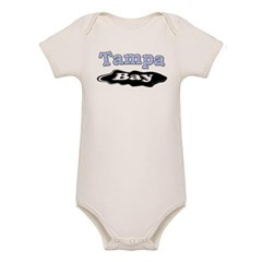 Tampa Bay Oil Spill Organic Baby Bodysuit