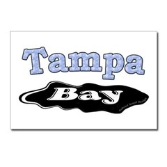 Tampa Bay Oil Spill Postcards (Package of 8)
