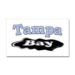 Tampa Bay Oil Spill Rectangle Decal