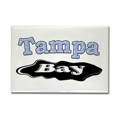 Tampa Bay Oil Spill Rectangle Magnet
