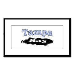 Tampa Bay Oil Spill Small Framed Print