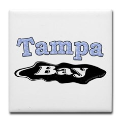 Tampa Bay Oil Spill Tile Coaster