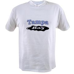 Tampa Bay Oil Spill Value T-shirt