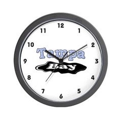 Tampa Bay Oil Spill Wall Clock