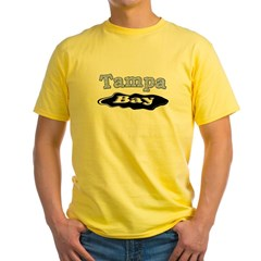 Tampa Bay Oil Spill Yellow T-Shirt