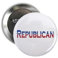 """Republican Logo 2.25"""" Button"""