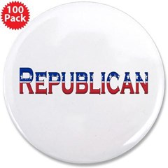 "Republican Logo 3.5"" Button (100 pack)"