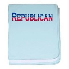 Republican Logo Baby Blanket