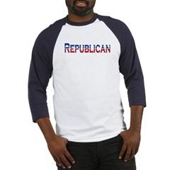 Republican Logo Baseball Jersey T-Shirt