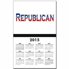 Republican Logo Calendar Print