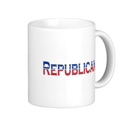 Republican Logo Classic White Mug