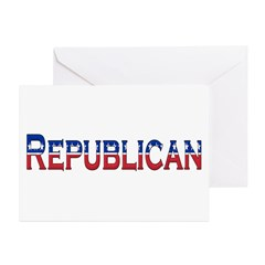 Republican Logo Greeting Card