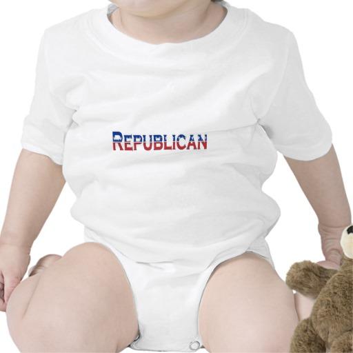 Republican Logo Infant Creeper