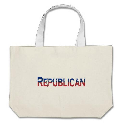 Republican Logo Jumbo Tote
