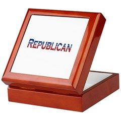Republican Logo Keepsake Box