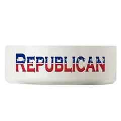 Republican Logo Large Pet Bowl