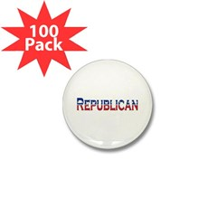 Republican Logo Mini Button (100 pack)
