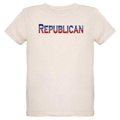 Republican Logo Organic Kids T-Shirt