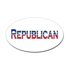 Republican Logo Oval Decal