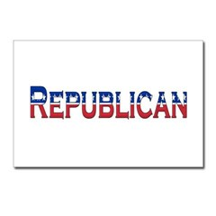 Republican Logo Postcards (Package of 8)