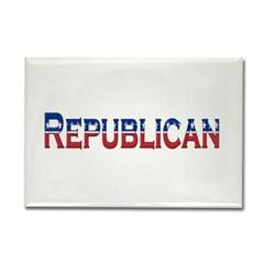 Republican Logo Rectangle Magnet