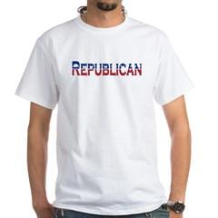 Republican Logo White T-Shirt