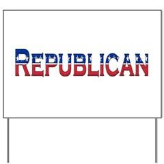 Republican Logo Yard Sign