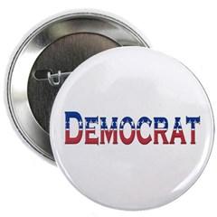 """Democrat Logo 2.25"""" Button"""
