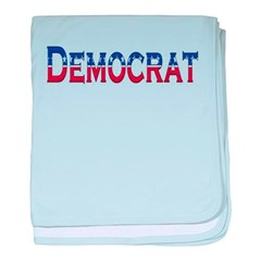 Democrat Logo Baby Blanket