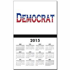 Democrat Logo Calendar Print