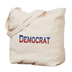 Democrat Logo Canvas Tote Bag