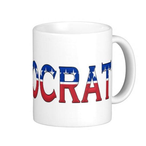 Democrat Logo Classic White Mug