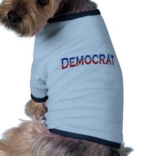 Democrat Logo Doggie Ringer T-Shirt