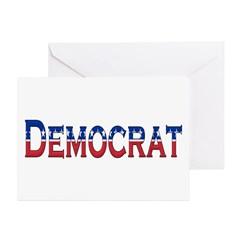 Democrat Logo Greeting Card
