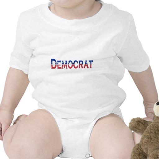 Democrat Logo Infant Creeper