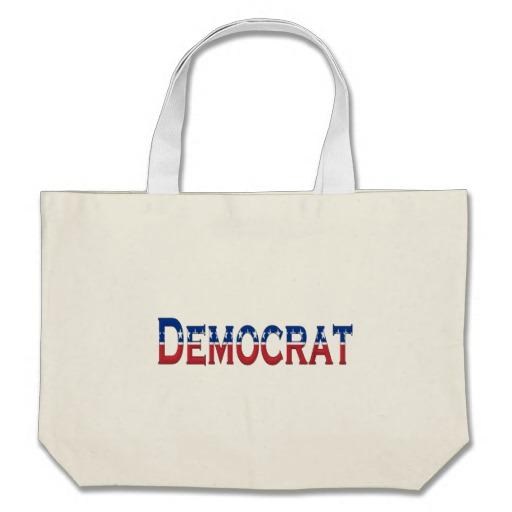Democrat Logo Jumbo Tote
