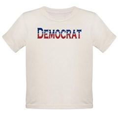 Democrat Logo Organic Toddler T-Shirt