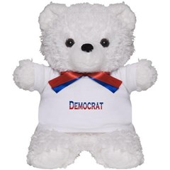 Democrat Logo Teddy Bear