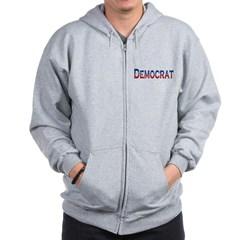 Democrat Logo Zip Hoodie