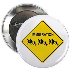 "Immigration Crossing 2.25"" Button"