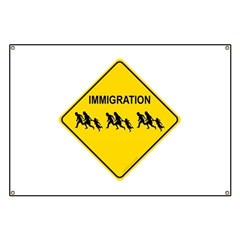 Immigration Crossing Banner