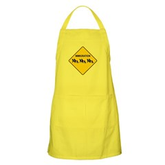 Immigration Crossing Dark Apron