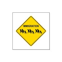 Immigration Crossing Large Posters