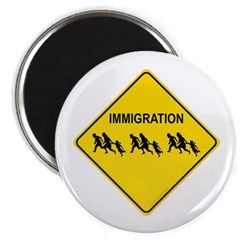 Immigration Crossing Magnet