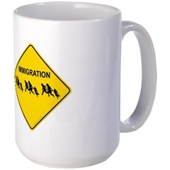 Immigration Crossing Mug