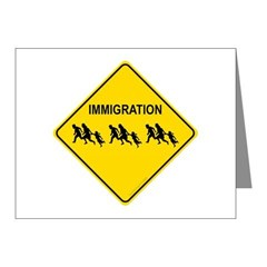 Immigration Crossing Note Cards (Pk of 20)